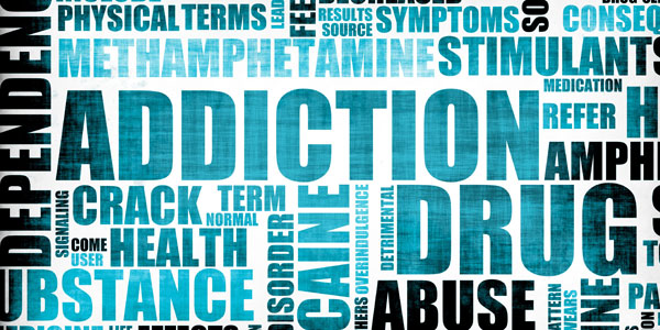 addictions graphic text
