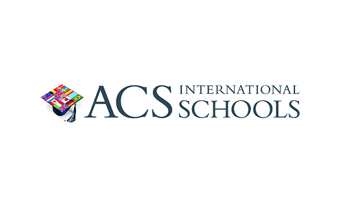 The American Community School (ACS) logo